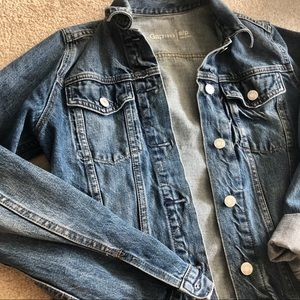 GAP Raw Denim Jacket